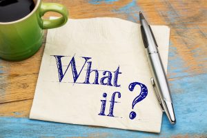What if question on napkin